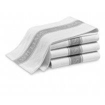 6 x Sonoma 3 Pack Glass Cloth Assorted Colours