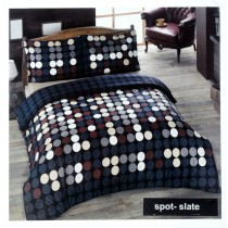 Spot 100% Cotton Duvet Set (Available in 2 Colours)