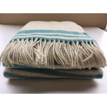 Assorted 100% Portuguese Lamb Wool Throw (Available in 2 Sizes and Assorted Designs)
