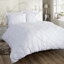 Chatsworth Pinch Pleat Duvet Set (Available in 4 Colours)