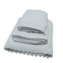 Lace Towel Range (Available in 2 Colours)