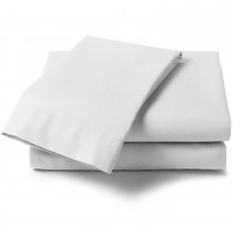 """Percale 2'6"""" Fitted Sheets (2 Colours)"""