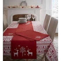 Yuletide Tablecloth 140 x 140cm