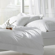Bellissimo 400 TC Cotton Duvet Cover Sets White