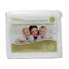Box of DreamEasy Luxury Quilted Pure Cotton Mattress Protector