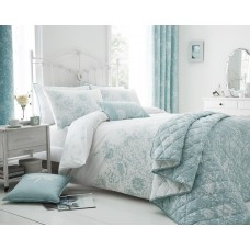 Floral Border Boudoir Cushion (Available in 3 Colours)