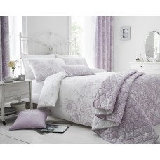Floral Border Bedspread (Available in 3 Colours)