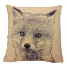 """Fox Tapestry Cushion Cover 18"""""""