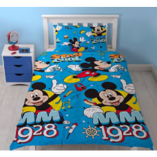 Mickey Mouse Single Duvet Set