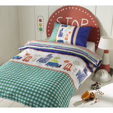 Trucks Duvet Set Single