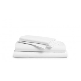 Bellissimo 400 TC Cotton Pillowcases White (4 Sizes Available)
