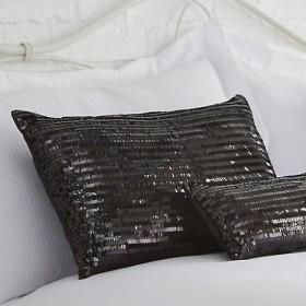 Bette Boudoir Cushion Black - 32 x 50cm