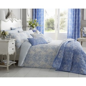 Toile Bedspread - 200 x 200cm (Available in 3 Colours)
